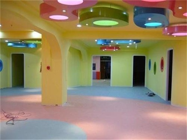 成都幼兒園PVC塑膠地板