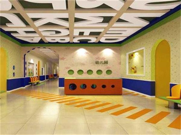 成都幼兒園PVC塑膠地板安裝