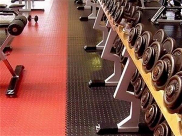 成都健身房PVC塑胶地板