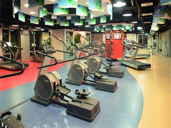 成都健身房PVC塑胶地板厂家