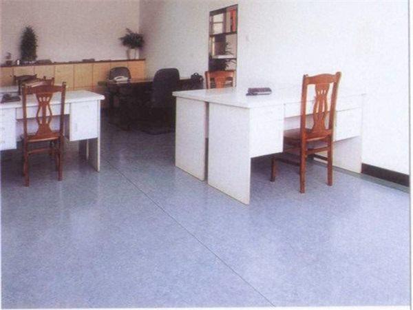 成都辦公室PVC塑膠地板廠家