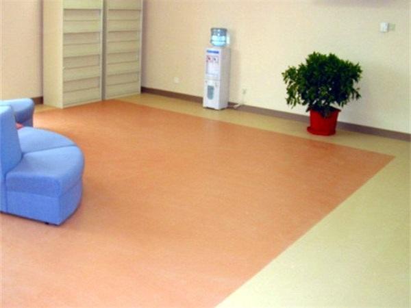 成都辦公室PVC塑膠地板安裝