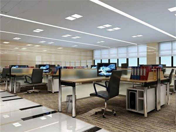 成都办公室PVC地板安装
