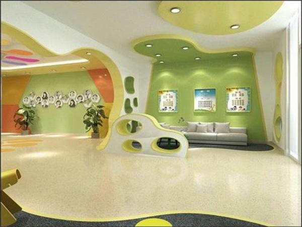 成都幼儿园PVC塑胶地板施工