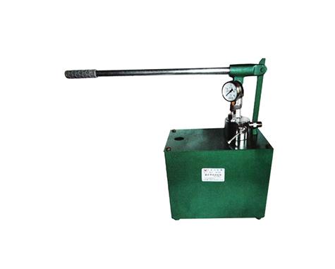 超 高压手动试压泵