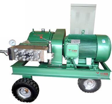 高壓清洗機在清洗混凝土攪拌設備中的應用