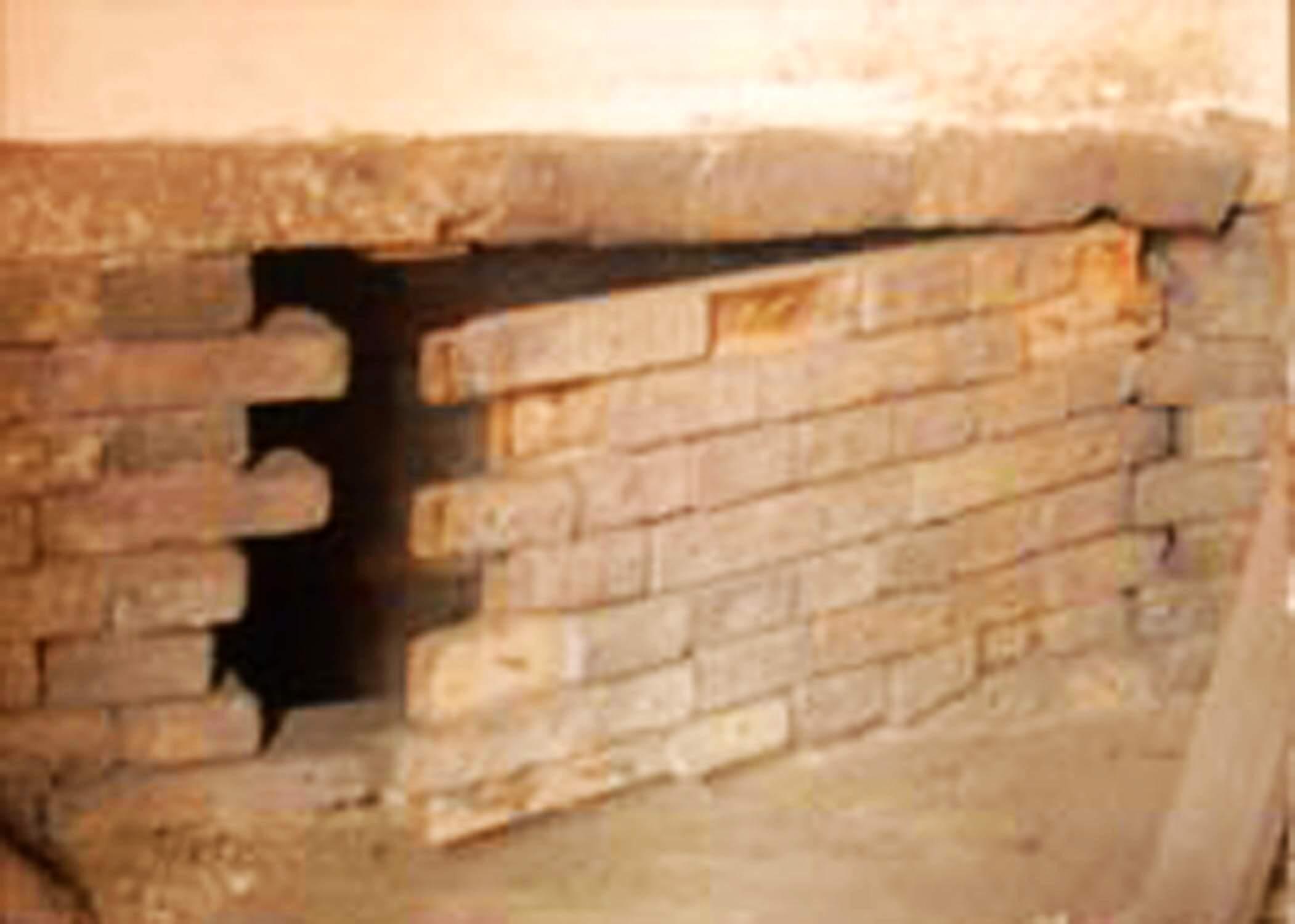 夹壁墙地道口