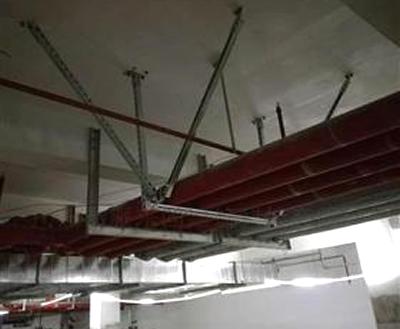 共架水管双向抗震支架