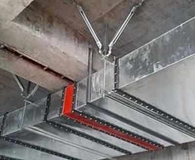 风管抗震支架安装图