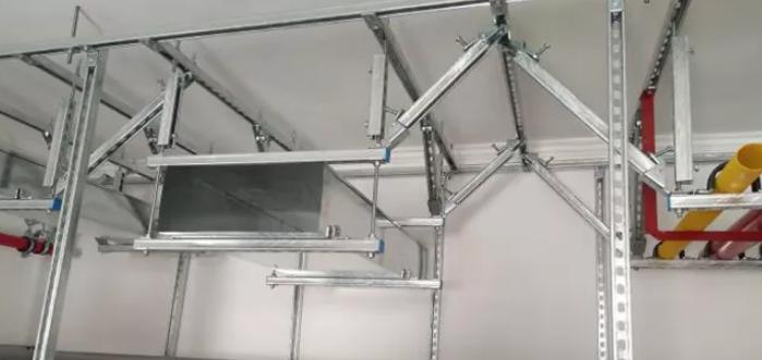 抗震支吊架的施工步骤及施工要点