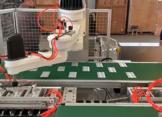 码垛机器人的特点、规格及应用