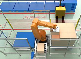 全自动码垛机器人系统简介及技术指标