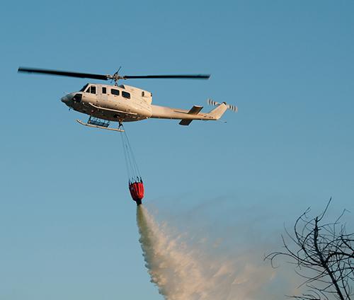 直升机农林喷洒
