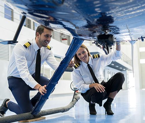 直升机驾驶培训