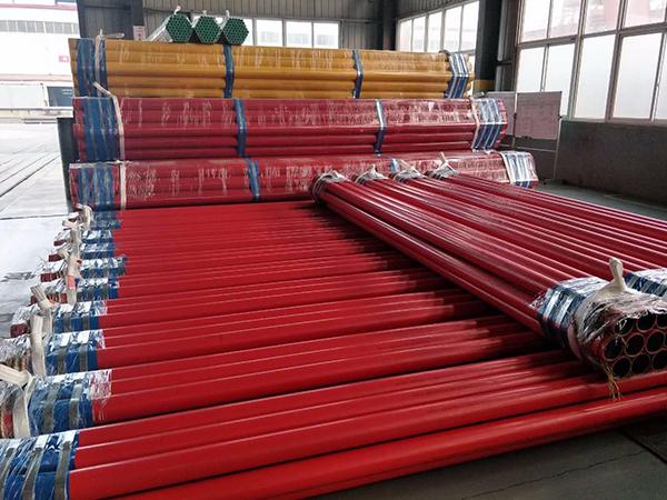 dn150消防涂塑钢管