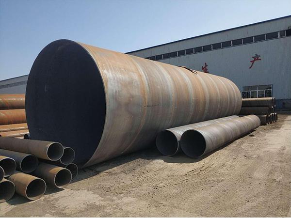 排水用防腐螺旋钢管