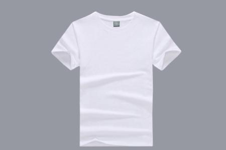 空白T恤定制白色T恤的保养方法