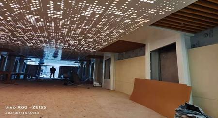 幕墙氟碳铝单板安装