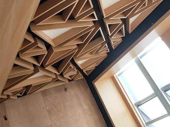 家装异型铝单板安装