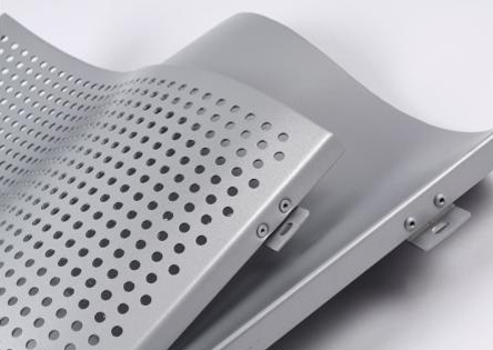 冲孔铝单板安装