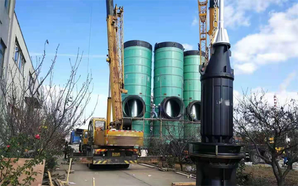 河南一体化提升泵站