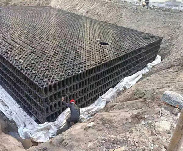 城市雨水收集回用系统