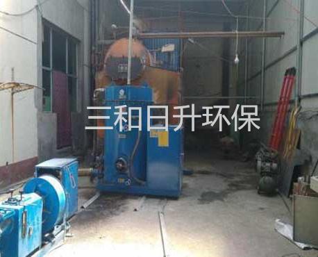 高压电场下的沥青烟气用电焦油器