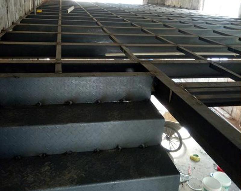 楼梯楼板搭建