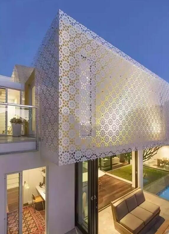 铝单板装饰出来的艺术建筑欣赏