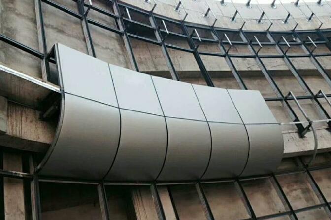幕墙铝单板包工包料多少钱每平方米?