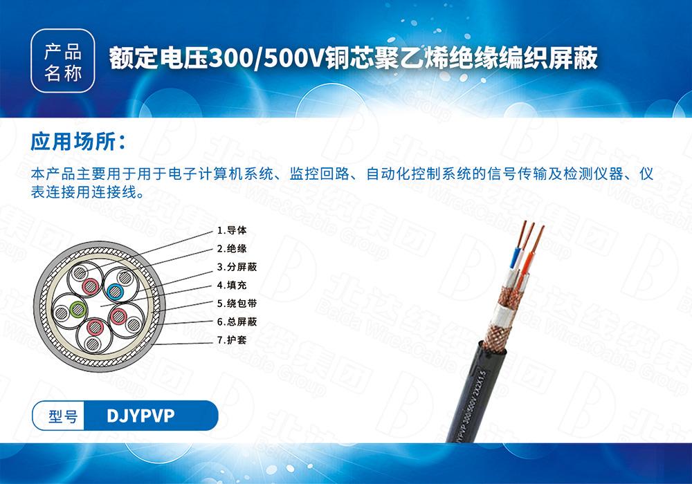 中低压电缆系列DJYPVP