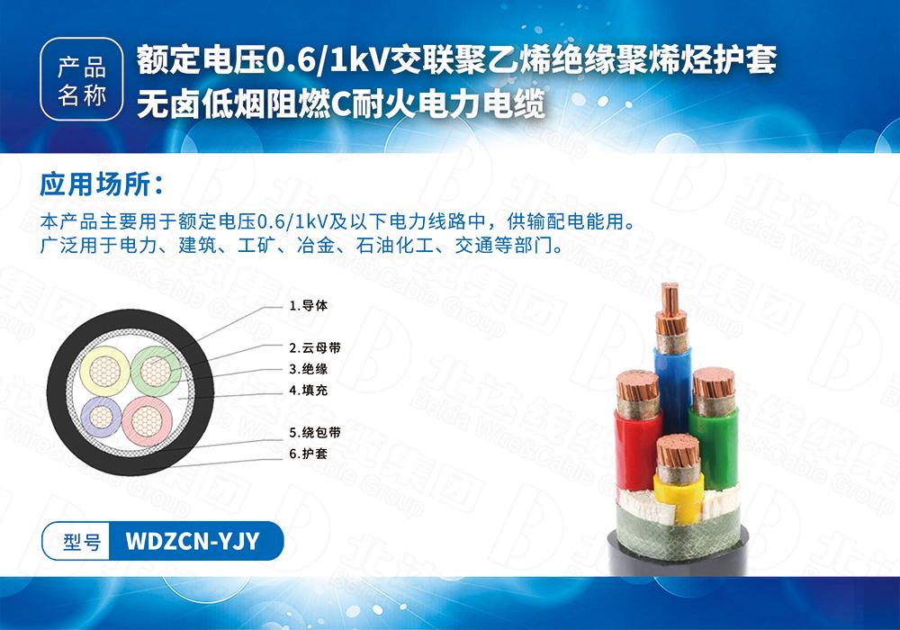 中低压电缆系列WDZCN-YJY