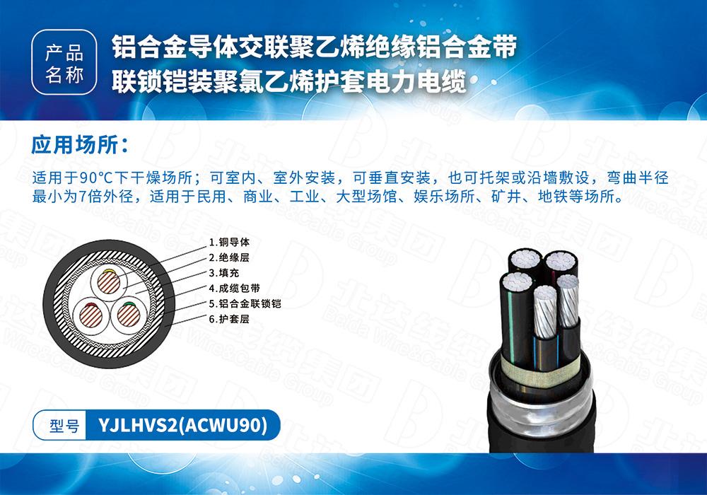 中低壓電纜系列YJLHVS2(ACWU90)