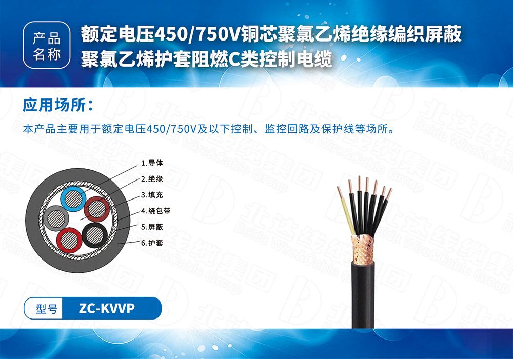 中低壓電纜系列ZC-KVVP