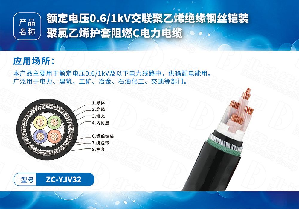 中低压电缆系列ZC-YJV32