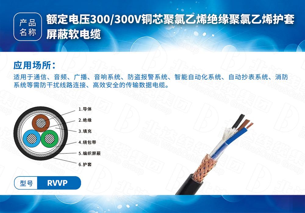 橡塑线缆系列RVVP