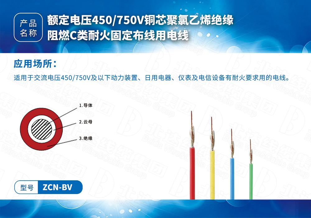 橡塑线缆系列ZCN-BV
