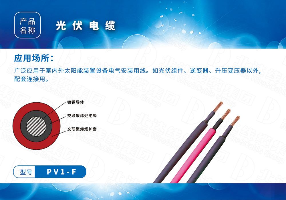 特种电缆系列PV1-F
