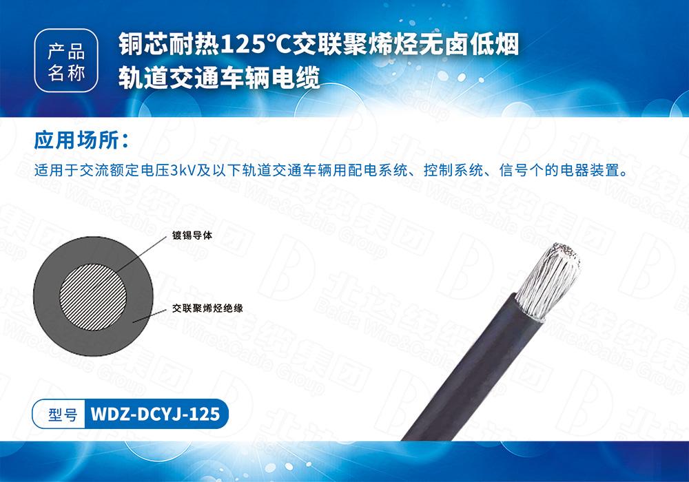 特種電纜系列WDZ-DCYJ-125