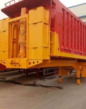 海城/东港 用集装箱半挂车、厢式半挂车载货的区别