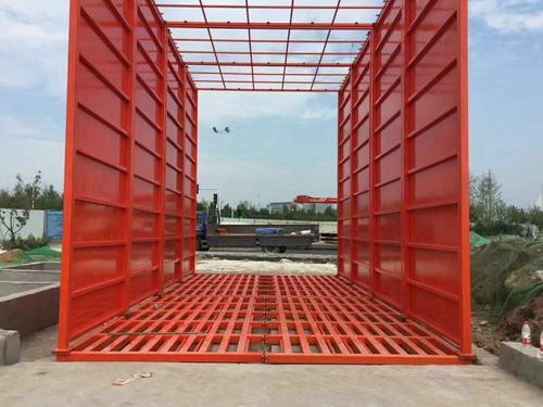 建筑工地洗轮机安装和使用的必要性