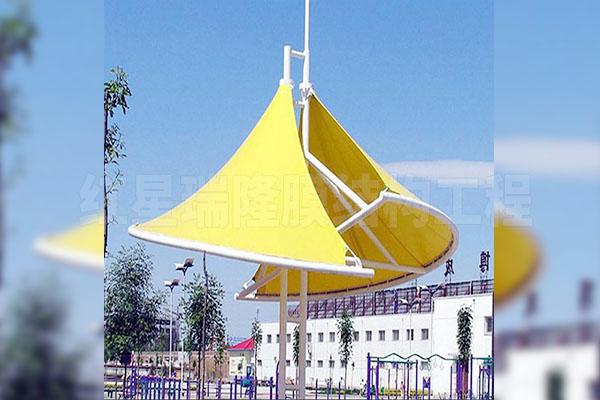 云南公园张拉膜结构