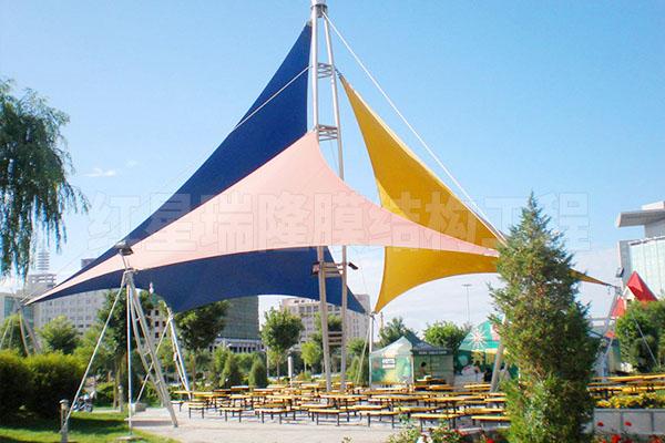 游乐场景观膜结构
