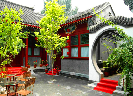 有一个这样的中式砖雕小院真好