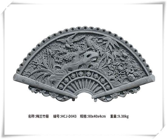 扇形砖雕厂家