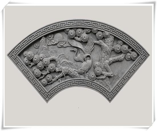 西安扇形砖雕