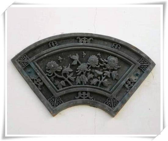 西安仿古扇形砖雕