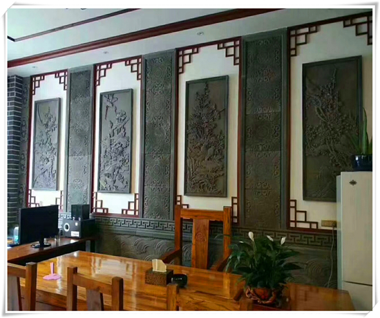 办公室砖雕装饰
