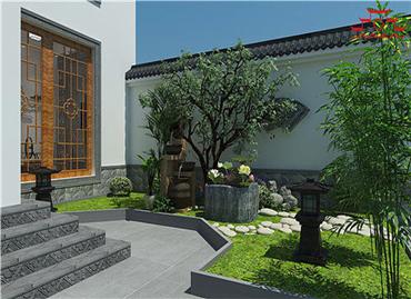 仿古砖雕打造的新中式别墅小院比欧式小别墅气派多了