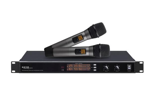 一拖二无线话筒HG-8112